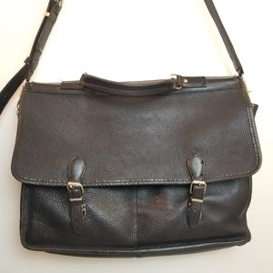 Roots briefcase laptop bag